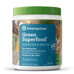 Amazing Grass GreenSuperfood Alkalize & Detox