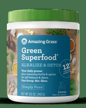 Amazing Grass GreenSuperfood Alkalize & Detox