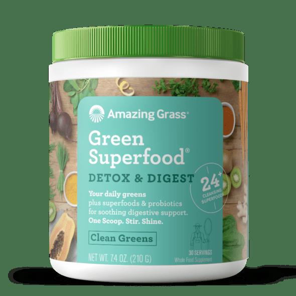 Amazing Grass GreenSuperfood Detox & Digest