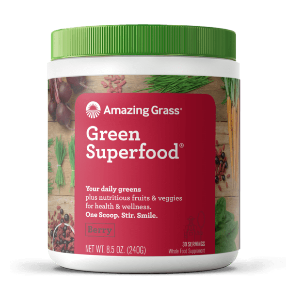 Amazing Grass GreenSuperfood vị Berry