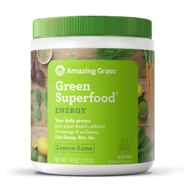 Amazing Grass Superfood Energy vị LemonLime