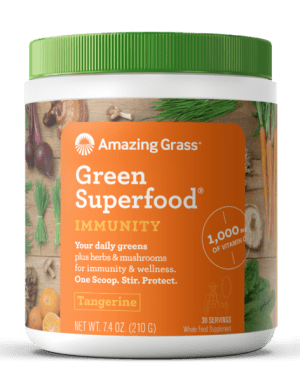 Amazing Grass GreenSuperfood Immunity Tangerine