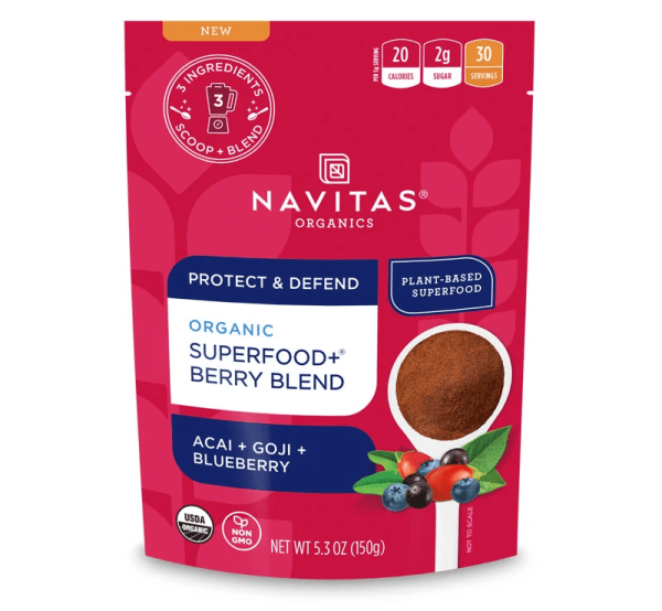 Navitas Superfood+ Berry Blend