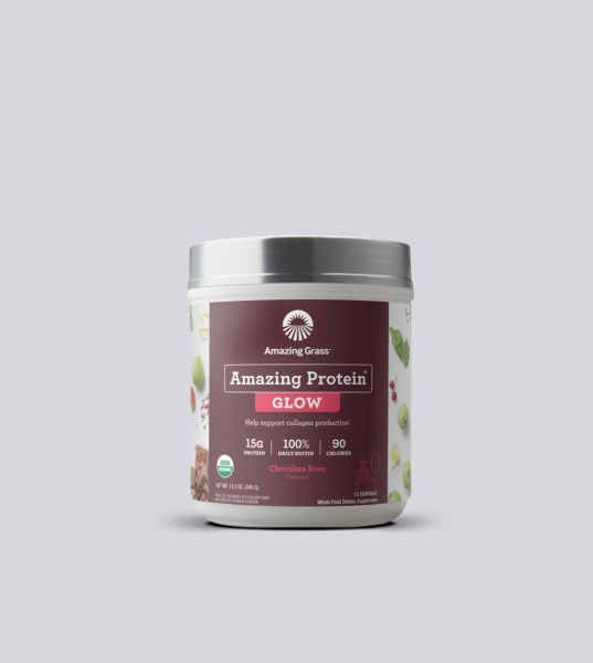 Amazing Protein Glow vị Chocolate Rose