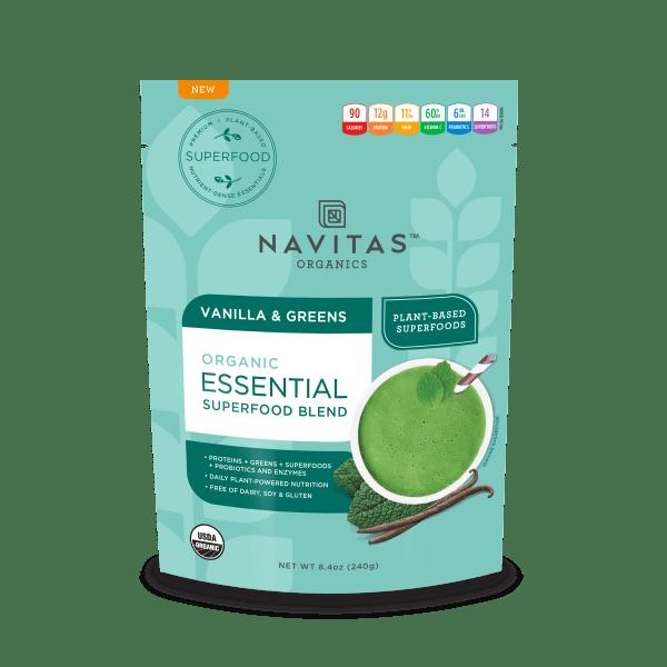 Navitas Essential Blend Vanilla & Greens