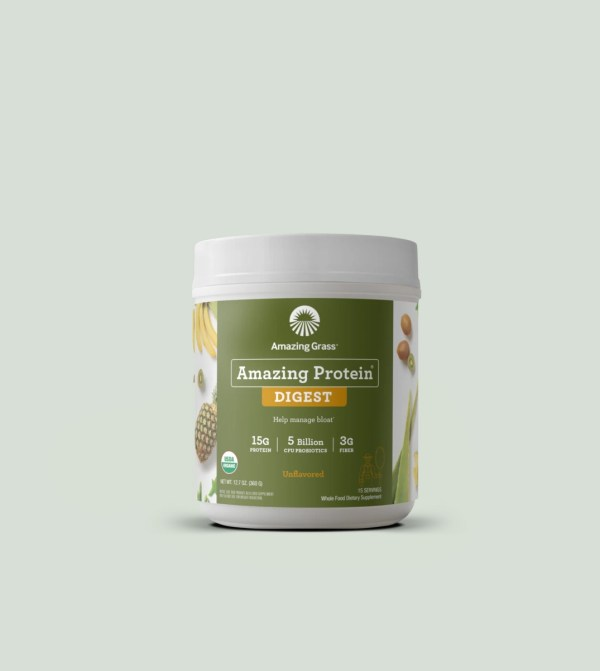 Amazing Grass Protein Digest vị Unflavored tự nhiên