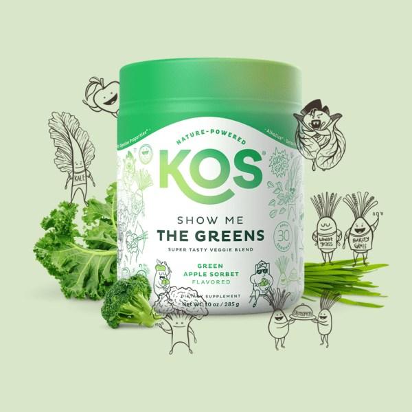 KOS Show Me The Greens