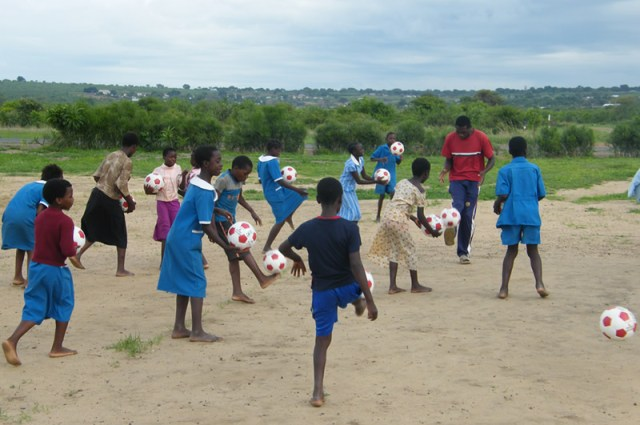 History of Soccer in Zambian Towns
