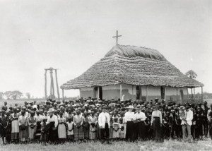 Finnish Missionary Martti Rautanen in Olukonda, South West Africa, 1899