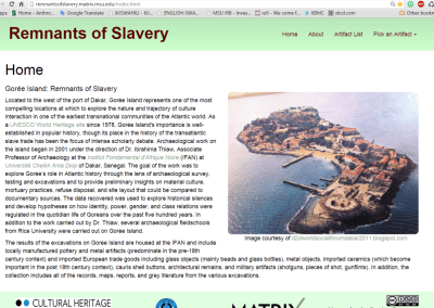 Remnants of Slavery
