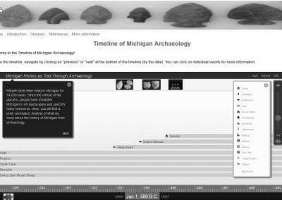 The Timeline of Michigan Archaeology
