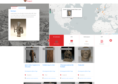 The Edo Provenance Project: Mapping the journey of looted artifacts to prominent museums