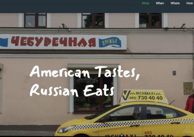 American Tastes, Russian Eats