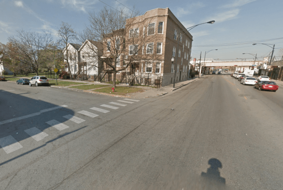 street view of Pulaski and Maypole