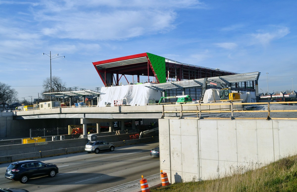 Eyes on the Street: 95th Street Station Work Is Rolling Along