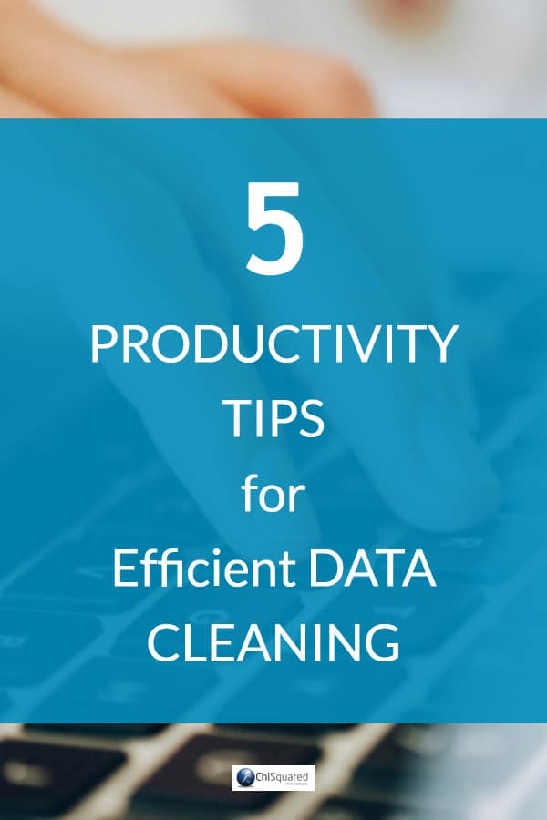 Yet despite data cleaning taking up around 60-80% of the typical data analyst's time it seems that it's still done in a mostly haphazard way. Here I'm going to give you 5 great data cleaning techniques, show you how to improve data quality and help you build a simple data cleansing strategy that is quick, easy to follow and really works. #datacleaning #datatips