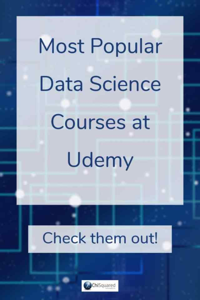 Most Popular Data Science Courses at Udemy
