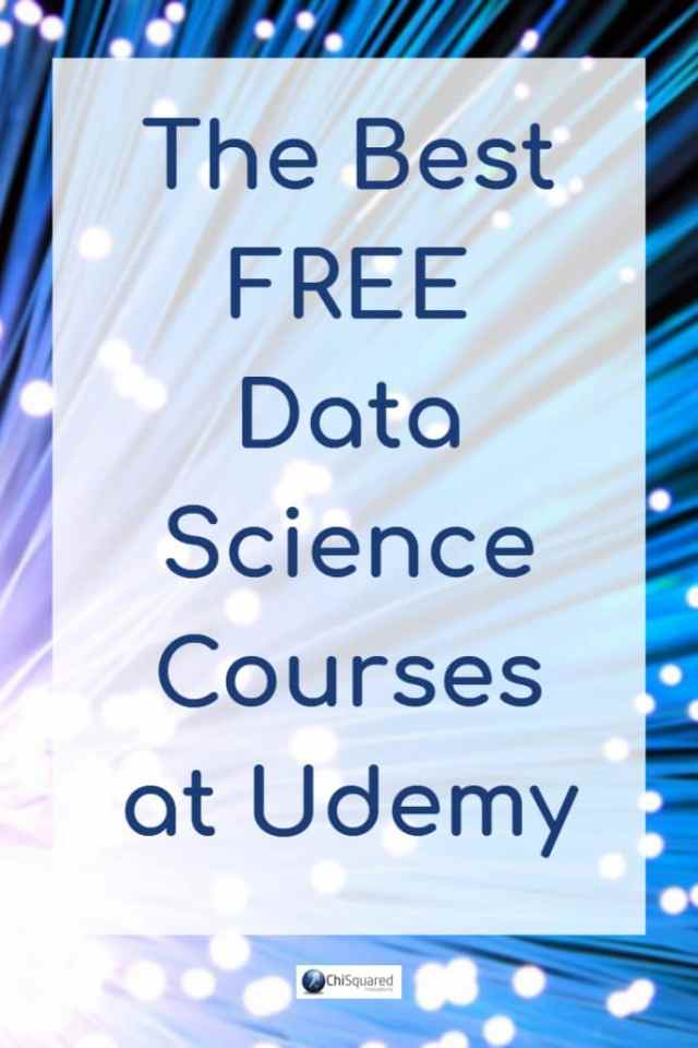 In this blog post, you will find a list of the best free data science courses at Udemy