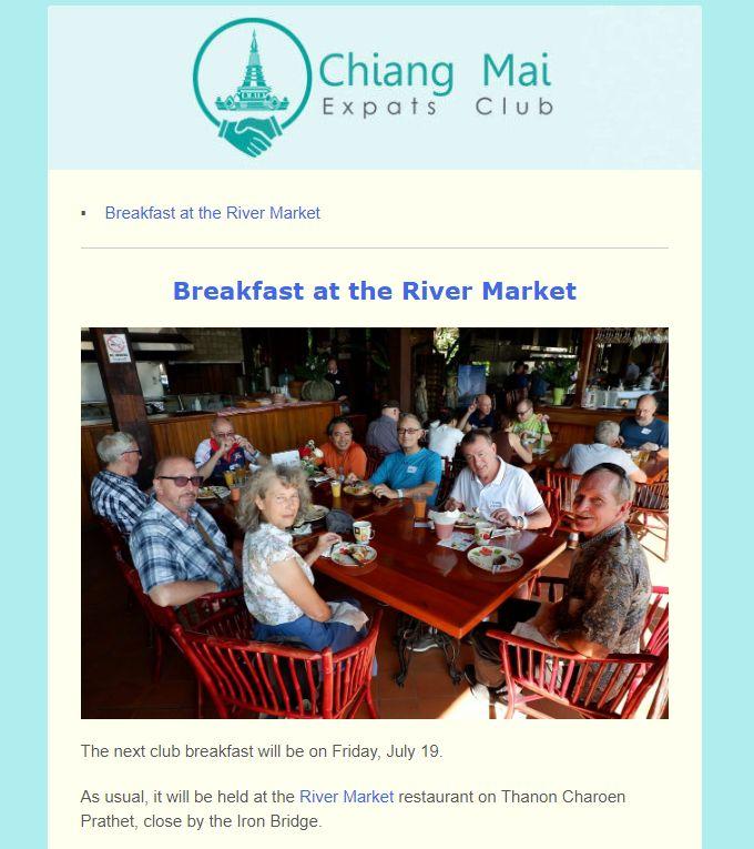 CEC Newsletter Chiang Mai Expats Club ChiangMaiExpatsClub