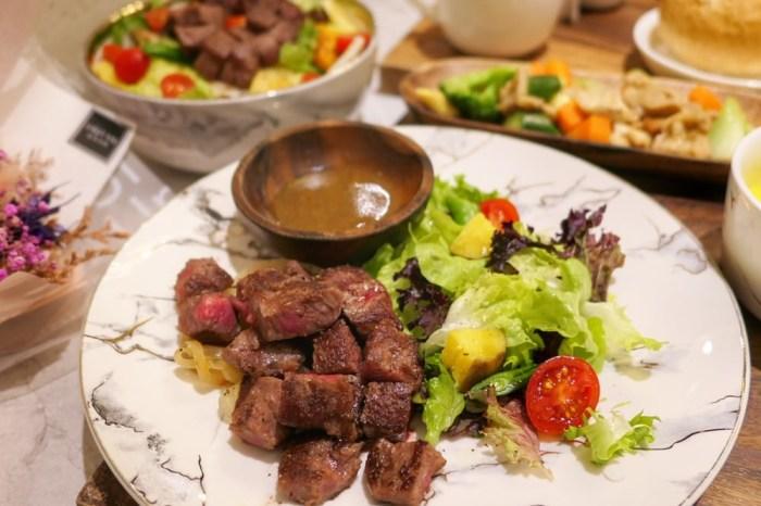 甲奔甲肉 中美街上好吃舒肥牛排只要$260!肉質軟嫩又營養均衡,大推啊~