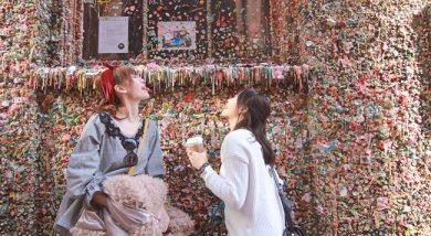 西雅圖超可愛風貌-派克市場x星巴克x口香糖牆x中央圖書館