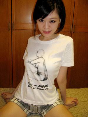 我設計的T-shirt誕生!
