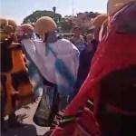 Chiapacorzeños desafían al  covid y realizan baile de parachicos