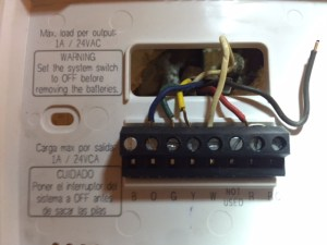 New Thermostat won't heat?  Tech Support Forum