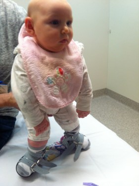 Chiara's 1st Boots and Bar Fitting