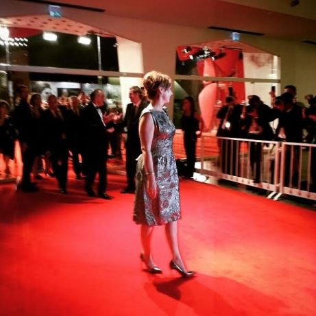 Catherine Frot red carpet