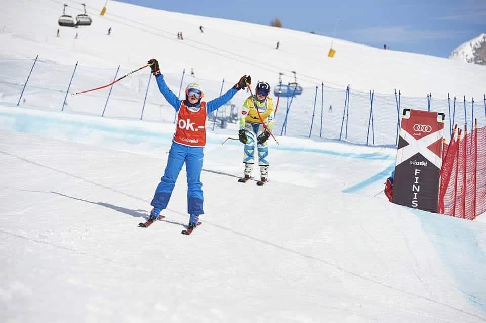 Chiara von Moos Audi Skicross Tour 08.03.2020