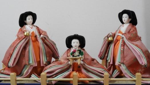 雛人形 三人官女