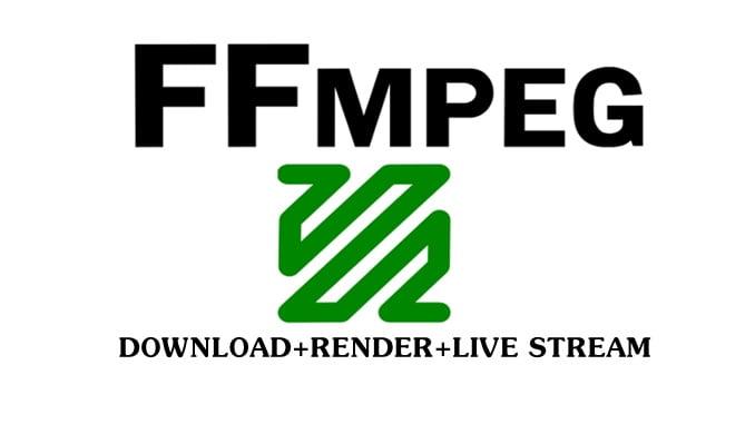 Code vừa Download, vừa Render, vừa Live stream ffmpeg
