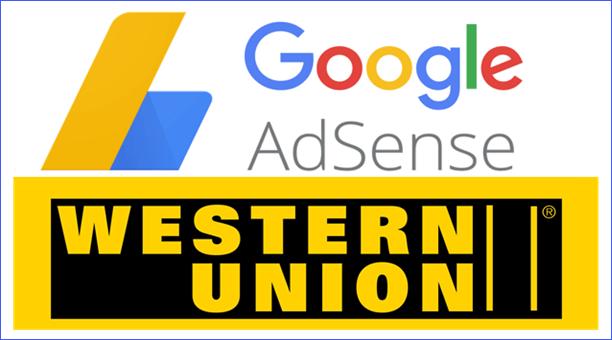 Nhận thanh toán từ Google Adsense thông qua Western Union