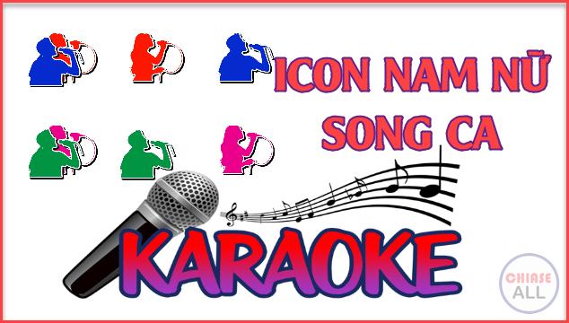 Share Bộ Icon Nam Nữ và Một Số Tài Nguyên Làm Karaoke