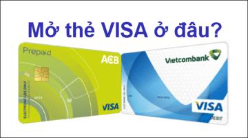 Nên làm thẻ Visa/MasterCard ở Ngân hàng nào tốt nhất?