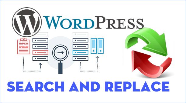 Plugin Search & Replace tìm kiếm và thay thế dữ liệu trên WordPress