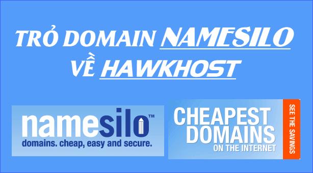 Hướng dẫn trỏ Domain từ NameSilo về Host bằng cách cập nhật Domain NameServers