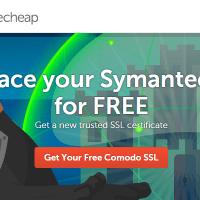 Thay thế chứng chỉ Symantec SSL miễn phí với Namecheap