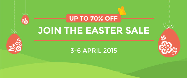 Easter Sale giảm giá 70%