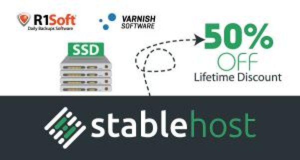 StableHost coupon tháng 5