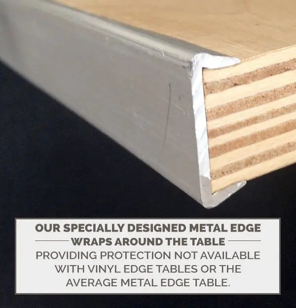 30 round plywood cocktail table top includes free metal edge upgrade the chiavari chair company