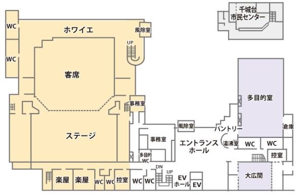 千城台コミュニティセンター1F