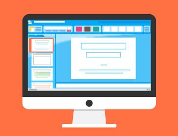 パソコンの画面の画像