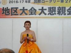大会二日目アトラクション 伊藤咲子ショー