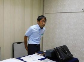本日の司会担当 今年度第1回目は永杉プログラム委員長