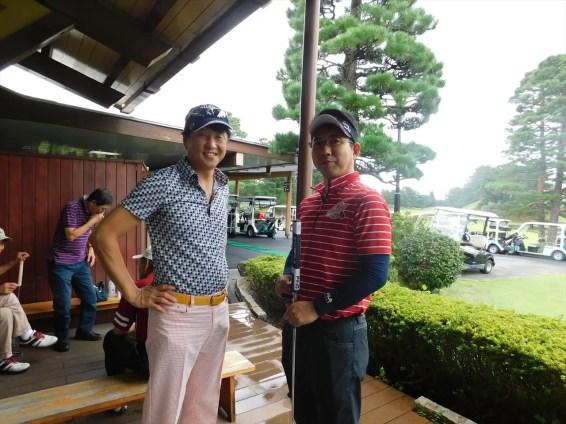 本日の緑ゴルフ例会:参加者9名
