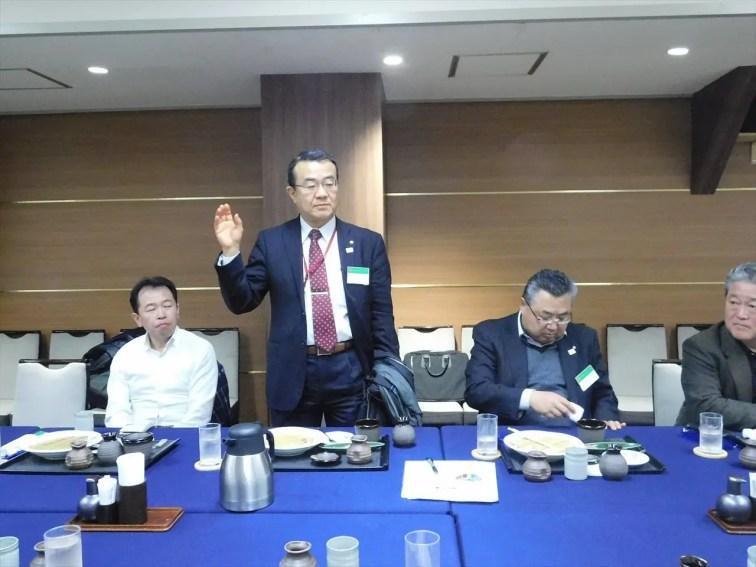 委員会報告 岩村社会奉仕委員長 桜の山について