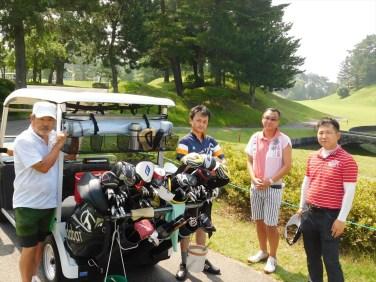 第2組 浅田会員、渡部会長、佐藤会員、横井幹事