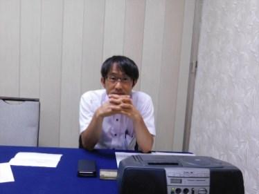 本日の司会 永杉プログラム委員長
